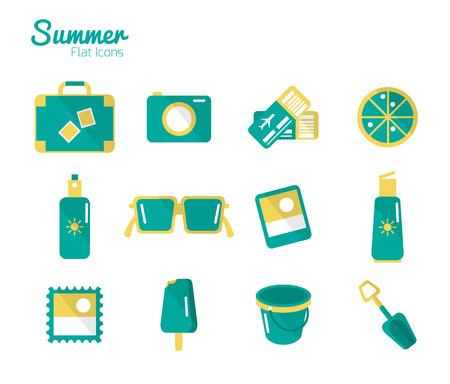 sun block: Summer Icons