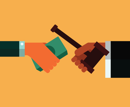 corrupcion: Abogado que da martillo al empresario-precio.