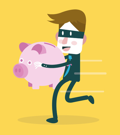 2,858 Stealing Money Stock Vector Illustration And Royalty Free ...