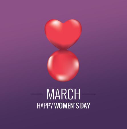 International Womens Day. 8 march icon design  vector illustration