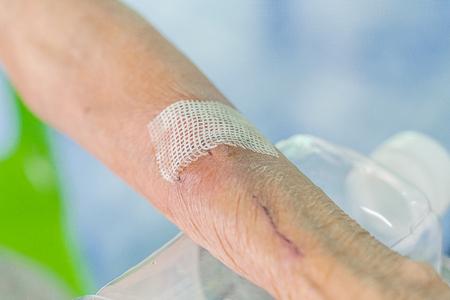man arm wound dressing set