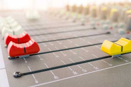 sound controller close-up equipment