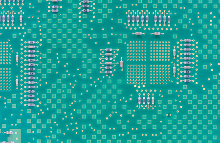 printed circuit board close up for background Banque d'images
