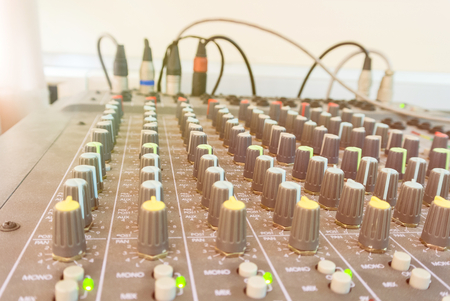 sound controller close-up equipment