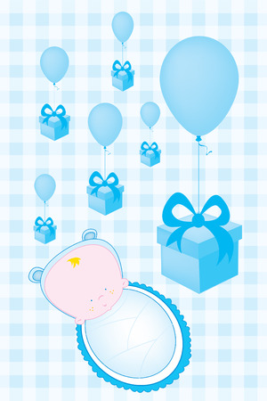 invitation card: baby shower invitation card
