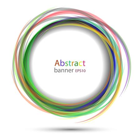colorful circular banner royalty free cliparts vectors and stock