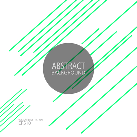 Abstract geometric green background vector for screen saver, banner ...