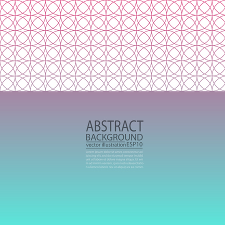 Abstract geometric background violet and blue circles for screen saver, banner, article, post, texture, pattern ...