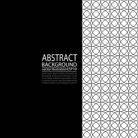 Abstract geometric cover template design.