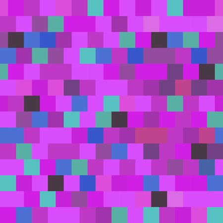 Ultraviolet background of squares - vector