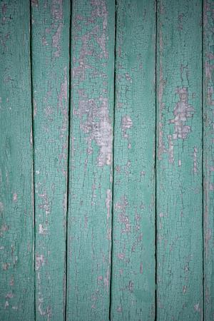 Wooden wall of blue old rough shabby boards Reklamní fotografie