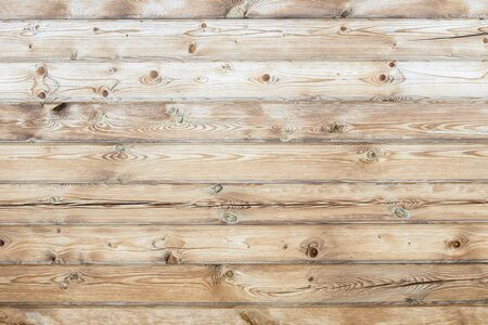 Wooden natural light background of smooth boards Banque d'images
