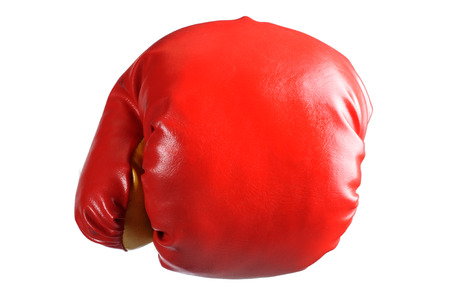 boxing glove in isolated Stock Photo - 24144604