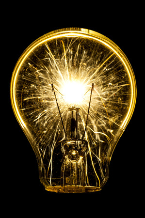 electric bulb: Electric sparklers bulb idea