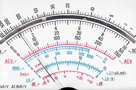 ammeter: Digital multimeter for determining