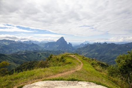 Phu Koon mountain views from Phupeangfah viewpoint
