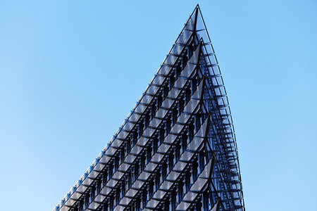 executive apartment: geometry of the business skyline