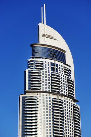 dubai city: Address Hotel in Dubai city Editorial