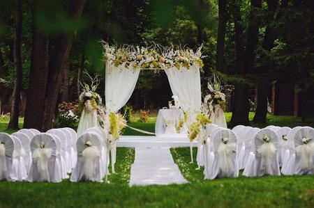 オーク ガーデンでの結婚式