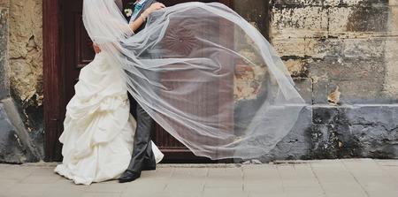 zweisamkeit: Zusammenhalt. Frisch verheirateten Paar