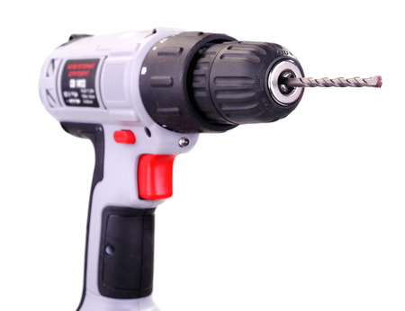 power operated: Cordless Drill Driver, isolated on white