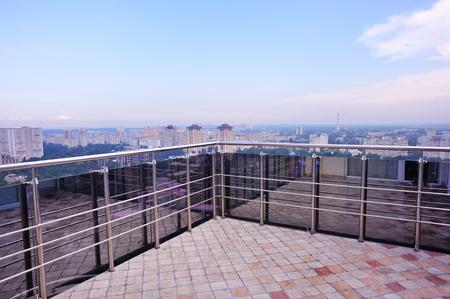 balcony view: balcony view, Kiev, Ukraine