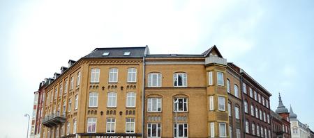 Building in Aalborg, Denmark.