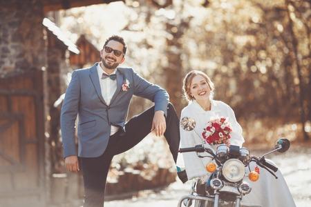 happy wedding: Happy wedding couple