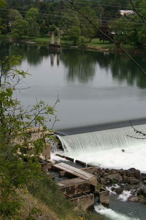 douglas: Winchester Dam, Douglas Co. OR Stock Photo