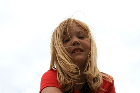 Cute red haired little girl Stock Photo - 951936