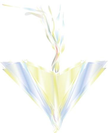 cometa Ilustraci�n