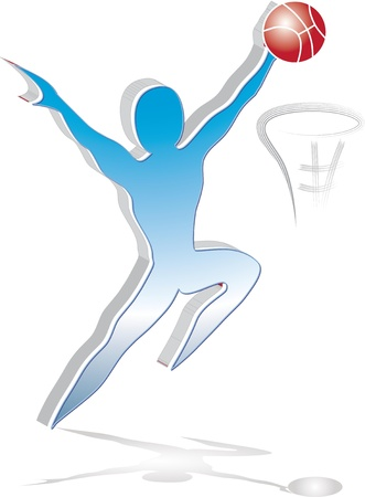 basketball Stock Vector - 13042816
