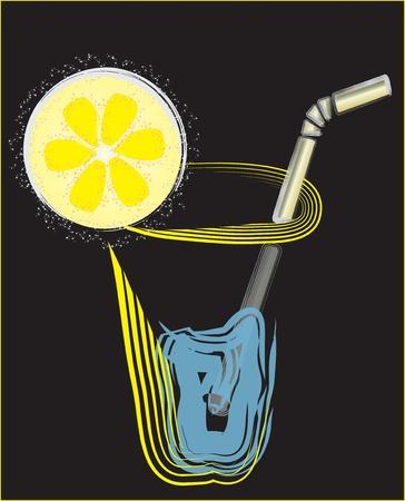 TROPICAL DRINK Stock Vector - 13042818