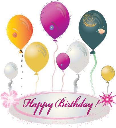 feliz cumpleaños Vectores