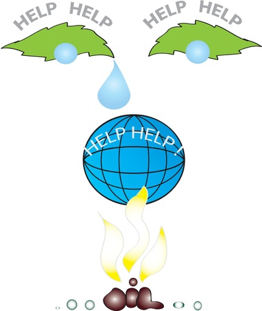 SAVE PLANET Stock Vector - 15253057