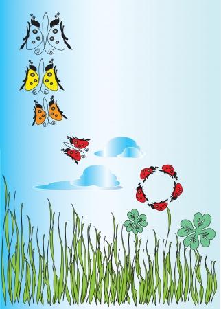 fantasie bloemen achtergrond