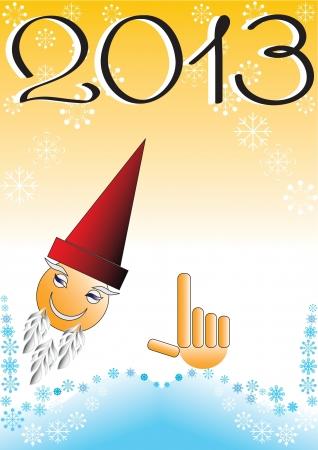 año nuevo fondo de la fantasía (eps10)