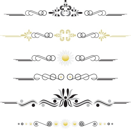 Vintage decorative ornaments (eps10) Stock Vector - 17081101