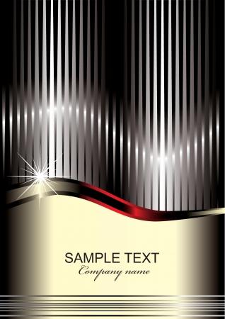 Elegante achtergrond met plaats voor tekst (eps10)