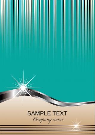 Fondo elegante con lugar para el texto (eps10) Ilustraci�n