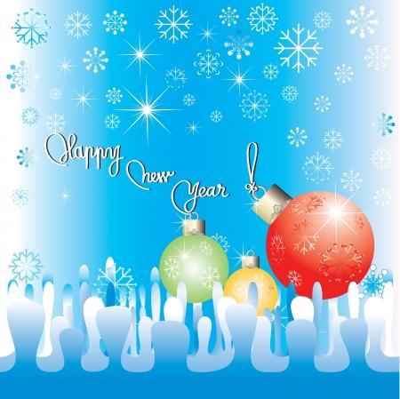Navidad de invierno de fondo (eps10) Vectores