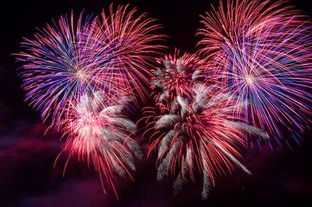 fireworks display: Fireworks display.