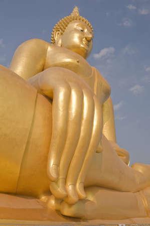 buddha image: Gran imagen de Buda.