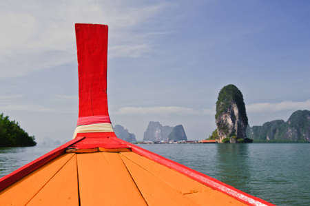 longtail: Longtail Boat, Thailand.