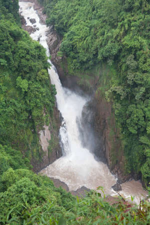 Rainforest waterfalls photo