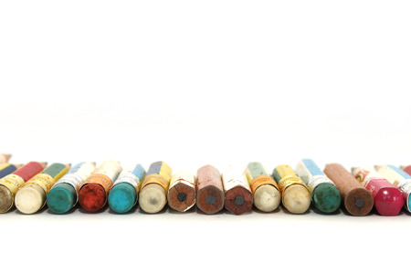 economize: pencils that was used until they are very short