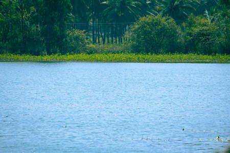 Scenic view of one of the lake in Kolar, Karnataka, India Reklamní fotografie
