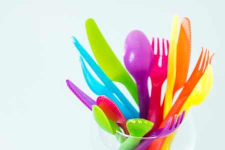 the heterogeneity: Diversity of colored cutlery