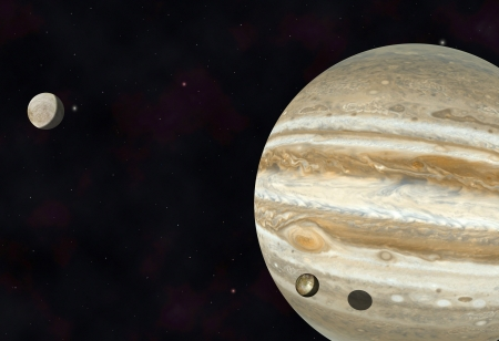io: Jupiter, Io and Europa