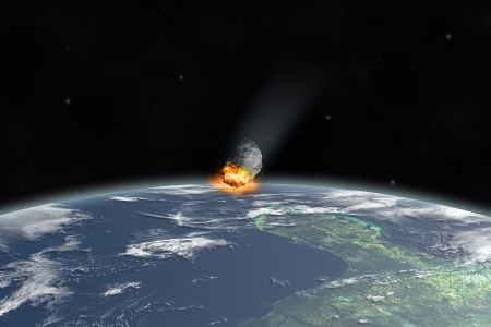 Asteroid in Yucatan  texture